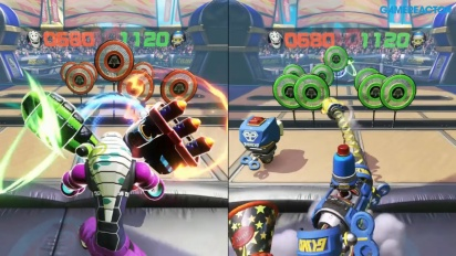 ARMS - Gameplay Modo Tiro al Blanco