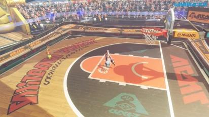 ARMS - Gameplay Modo Baloncesto