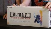 Unboxing de Final Fantasy XII: The Zodiac Age