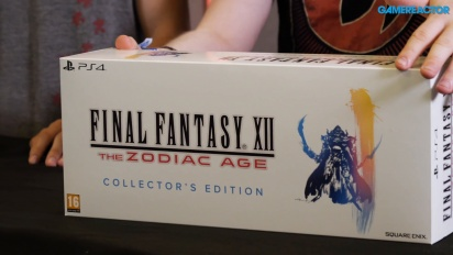 Unboxing de Final Fantasy XII: The Zodiac Age