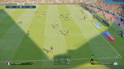 Pro Evolution Soccer 2019 - Gameplay partido completo Francia vs Argentina