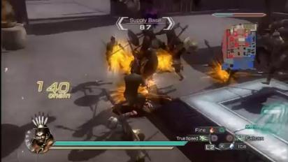 Dynasty Warriors 6: Empires - Menghuo Attacks Gameplay