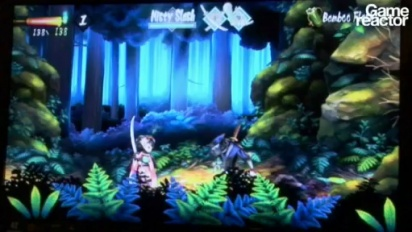 E309: Muramasa: The Demon Blade gameplay