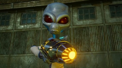 Destroy All Humans! - Fun with Alien Guns Trailer
