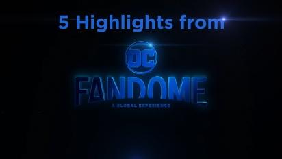 5 Highlights del Evento DC Fandome