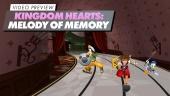 Kingdom Hearts: Melody of Memory - Preview en Vídeo