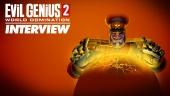Evil Genius 2: World Domination - Entrevista
