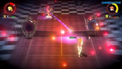 Mario Tennis Aces - Gameplay español Peach vs. Daisy nivel Profesional