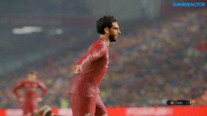 Pro Evolution Soccer 2019 - Gameplay partido completo FC Barcelona vs Liverpool FC