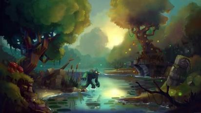 Hytale - Timelapse de la creación artística: Zona 1, Pantano