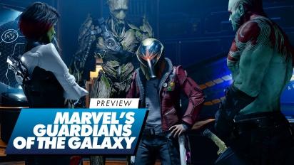 Guardians of the Galaxy - Preview en vídeo