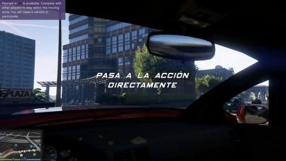 Grand Theft Auto V - GTA Online - Tráiler español actualización Modo Libre