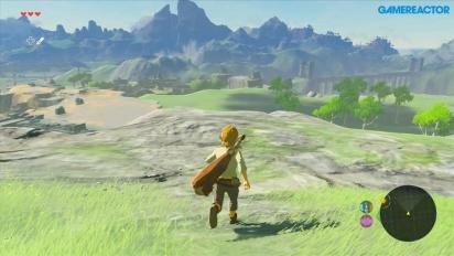 The Legend of Zelda Breath of the Wild - Gameplay en Wii U primeros 20 minutos
