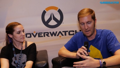 Overwatch - Entrevista a Rachel Day y Tim Ford