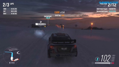 Forza Horizon 3 - Gameplay de Blizzard Mountain en Xbox One X a 4K