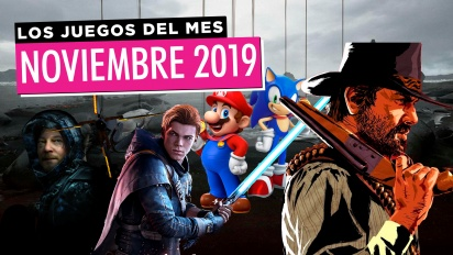 Los juegos del mes: Noviembre de 2019