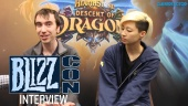 Hearthstone - Descent of Dragons - Entrevista BlizzCon 2019