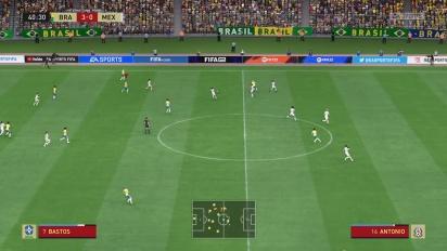 FIFA 22 - Fútbol Femenino: Brasil contra México