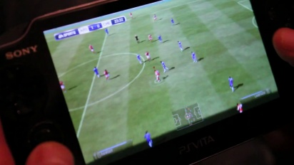 FIFA for Playstation Vita - Hands On