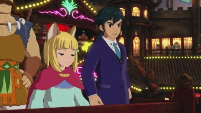 Ni No Kuni II: Revenant Kingdom - The Mysterious Traveller Trailer