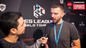 PES League WT 2018 Ronda Europa - Entrevista a Lennart Bobzien