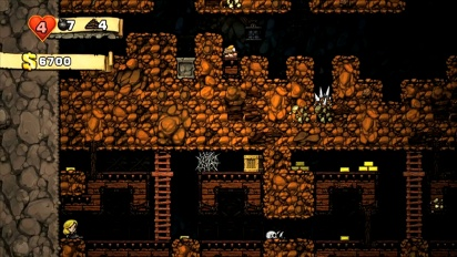 Spelunky - primeros 10 minutos de gameplay