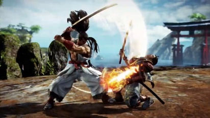 Soul Calibur VI - Haohmaru Gameplay Trailer