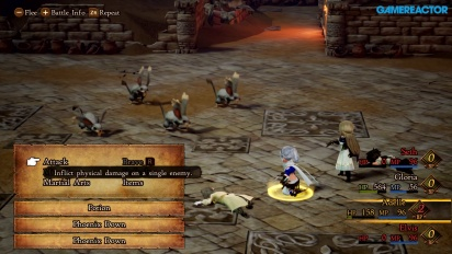 Bravely Default II - Gameplay Nintendo Switch