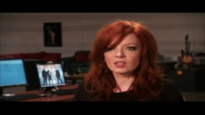 Guitar Hero 5 - Shirley Manson Trailer