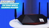 El Vistazo - Netgear Nighthawk XR1000 Wi-Fi 6 Gaming Router
