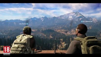 Far Cry 5 - Tráiler español modo cooperativo Amigo de Alquiler
