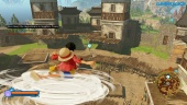 One Piece: World Seeker - Gameplay de exploración libre en Pirate Island