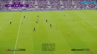 eFootball PES 2020 - Gameplay final FC Barcelona vs. Arsenal