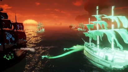 Sea of Thieves - Tráiler de la actualización Costas Encantadas