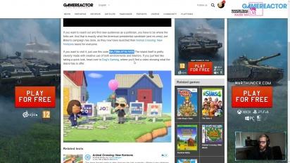 GRTV News - Políticos Americanos en Videojuegos