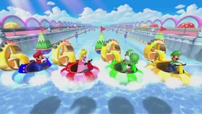 Mario Party 10 - Minijuego A Toda Pastilla