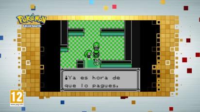 Pokémon Edición Roja, Azul y Amarilla - Tráiler español Consola Virtual Game Boy para Nintendo 3DS