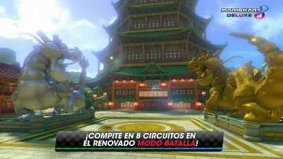 Mario Kart 8 Deluxe - Tráiler general español