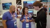 JCB Pioneer Mars - Entrevista a Andrew Santos y Maggie Lieu