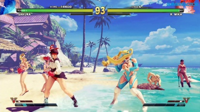 Street Fighter V: Arcade Edition - Camino SF Alpha - Sakura vs. R.Mika