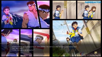 Street Fighter V: Arcade Edition - Camino SF Alpha - Sakura vs. Ryu