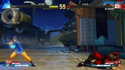 Street Fighter V: Arcade Edition - Camino SF Alpha - Sakura vs. Bison