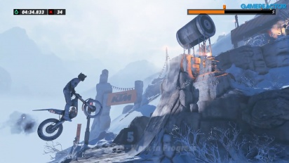 Trials Rising - Gameplay en solitario