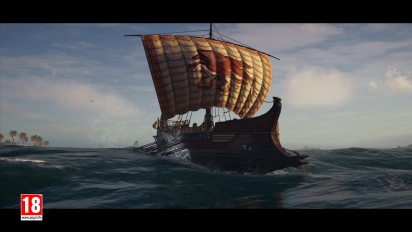 Assassin s Creed Odyssey - A World of Danger Gameplay Trailer - Alexios
