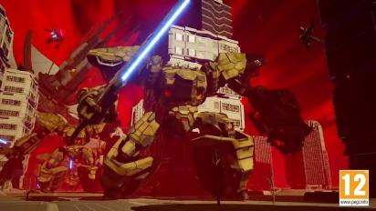 Daemon x Machina - Tráiler de la gamescom 2018 en español