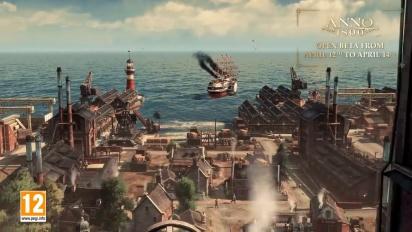 Anno 1800 - Open Beta Trailer