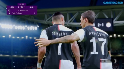eFootball PES 2020 - Gameplay Juventus vs. Ajax
