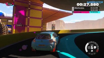 Dirt 5: Playgrounds - Gameplay de la prueba Speedhelix