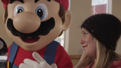 Mario & Sonic at the Sochi 2014 Olympic Winter Games - Snowboarder Jamie Anderson Trailer