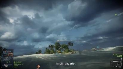 Battlefield 4: Naval Strike -tráiler oficial español